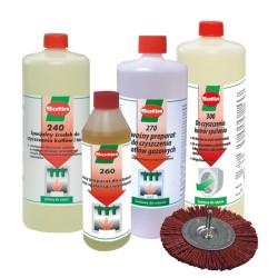 ZESTAW - preparaty czyszczące ze szczotką