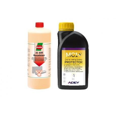 SOTIN SG 600 + ADEY MC1+ uszczelniacz instalacji i inhibitor korozji